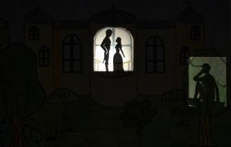 Haus dunkel